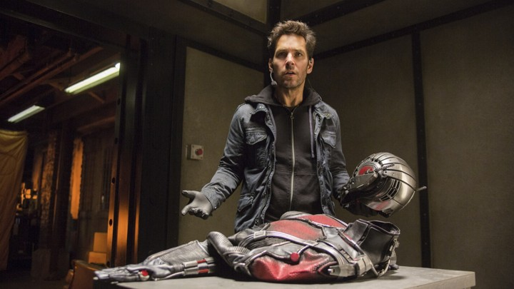 Paul Rudd as Scott Lang in 'Ant-Man'