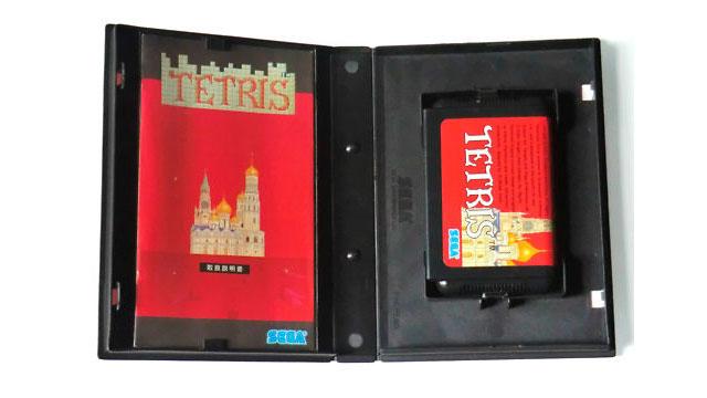Sega Mega Drive Tetris Genesis