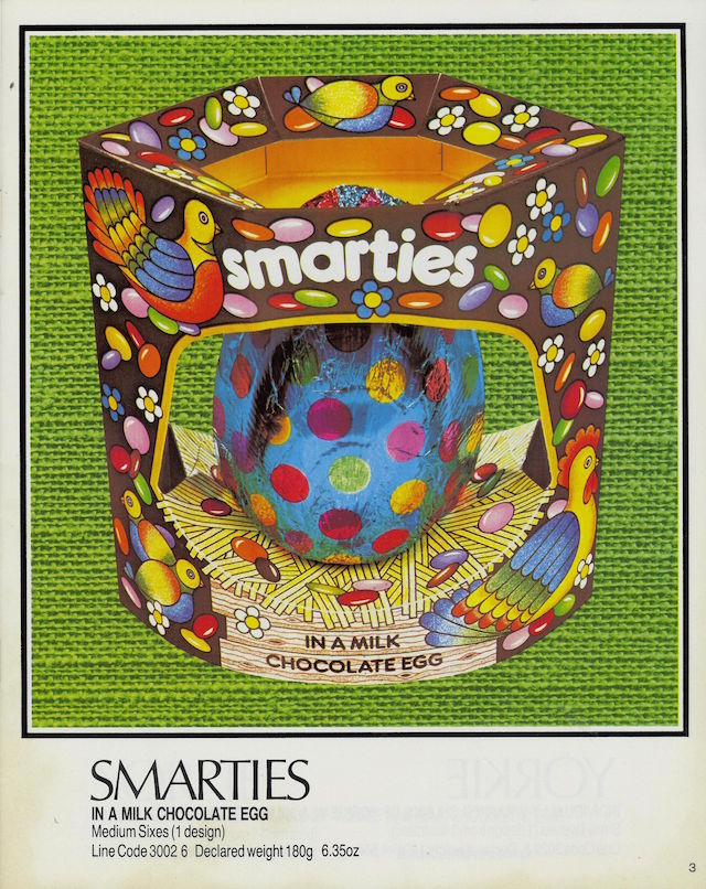 Smarties Easter Egg