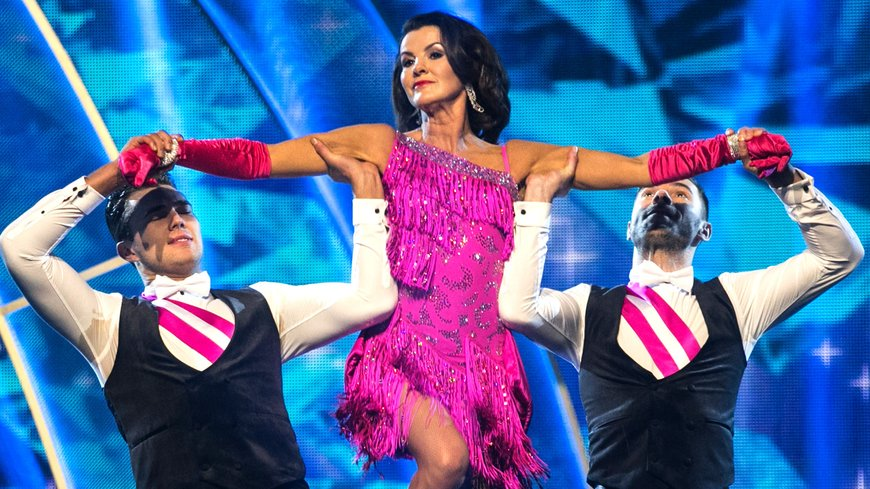 Deirdre O'Kane on 'Dancing with the Stars'