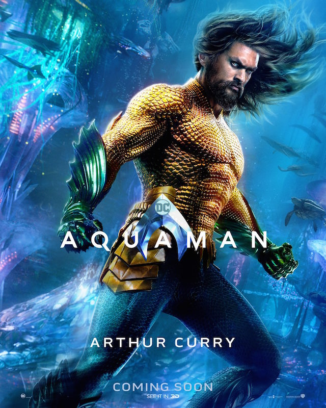 Jason Momoa as Arthur Curry/Aquaman in 'Aquaman'