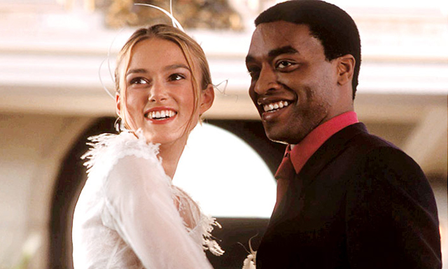 Love Actually Keira Knightley Chiwetel Ejiofor