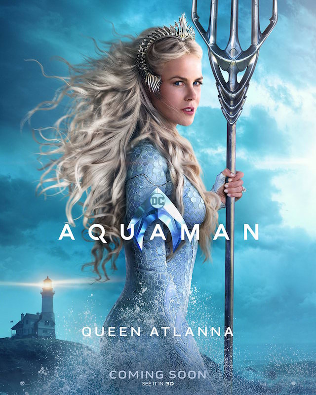 Nicole Kidman as Queen Atlanna in 'Aquaman'