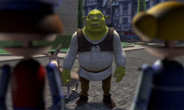 Shrek 2001 Donkey