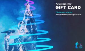 Win €100 Ticketmaster gift card.