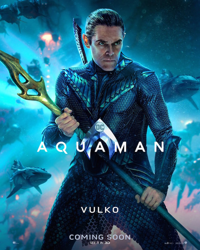Willem Dafor as Vulko in 'Aquaman'