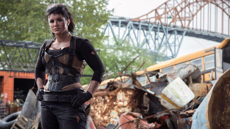 Gina Carano in 'Deadpool'