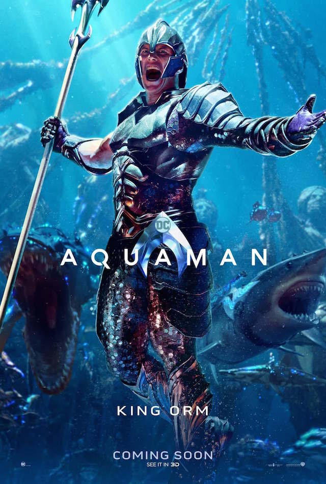 Patrick Wilson as King Orm in 'Aquaman'