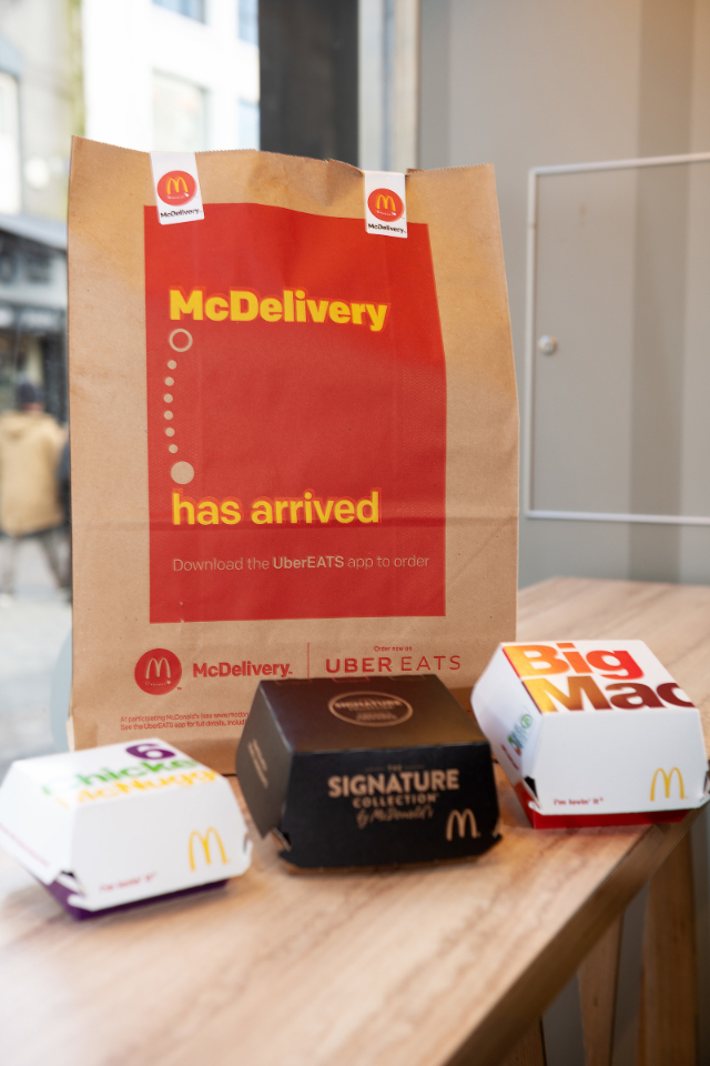 McDonald's McDelivery arrives in Ireland