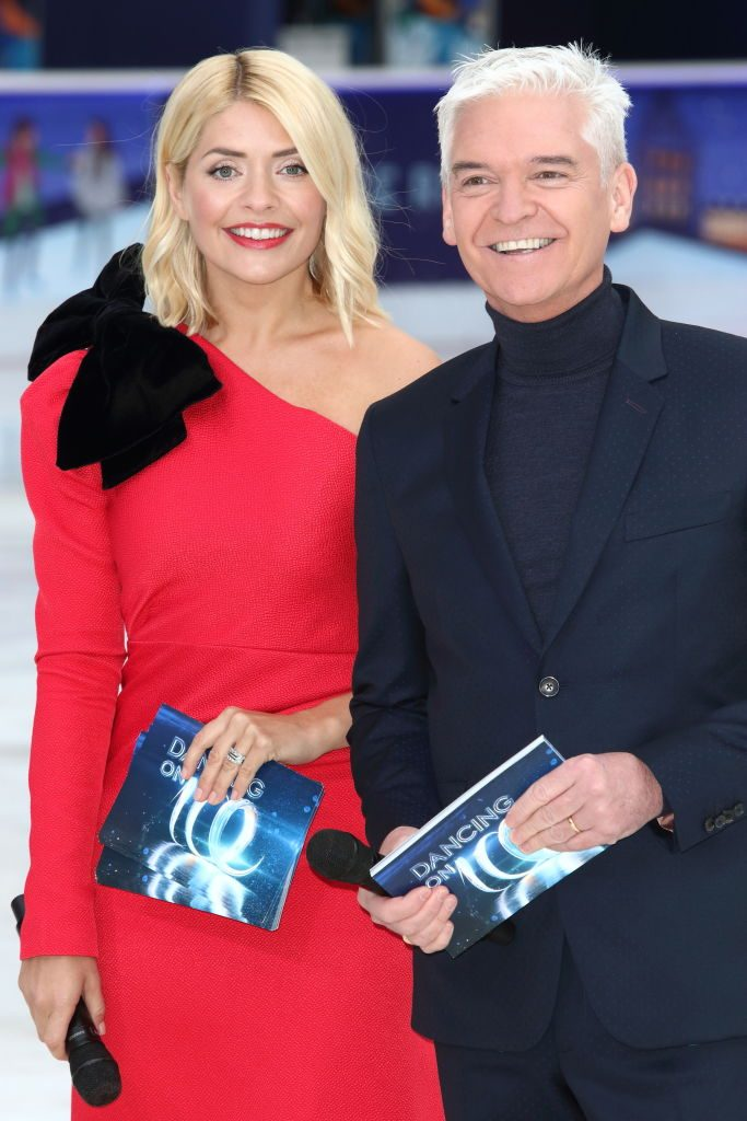 Holly Willoughby Philip Schofield Dancing on Ice launch