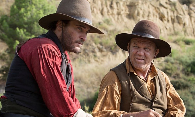 Joaquin Phoenix and John C. Reilly in 'The Sisters Brothers'