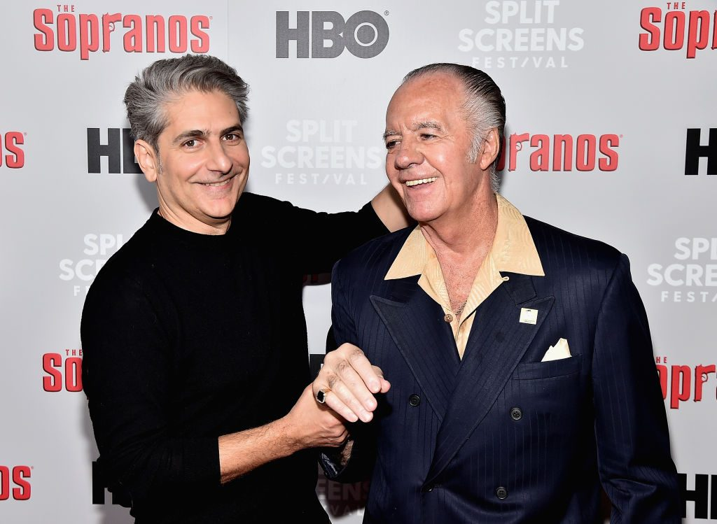 Michael Imperioli and Tony Sirico