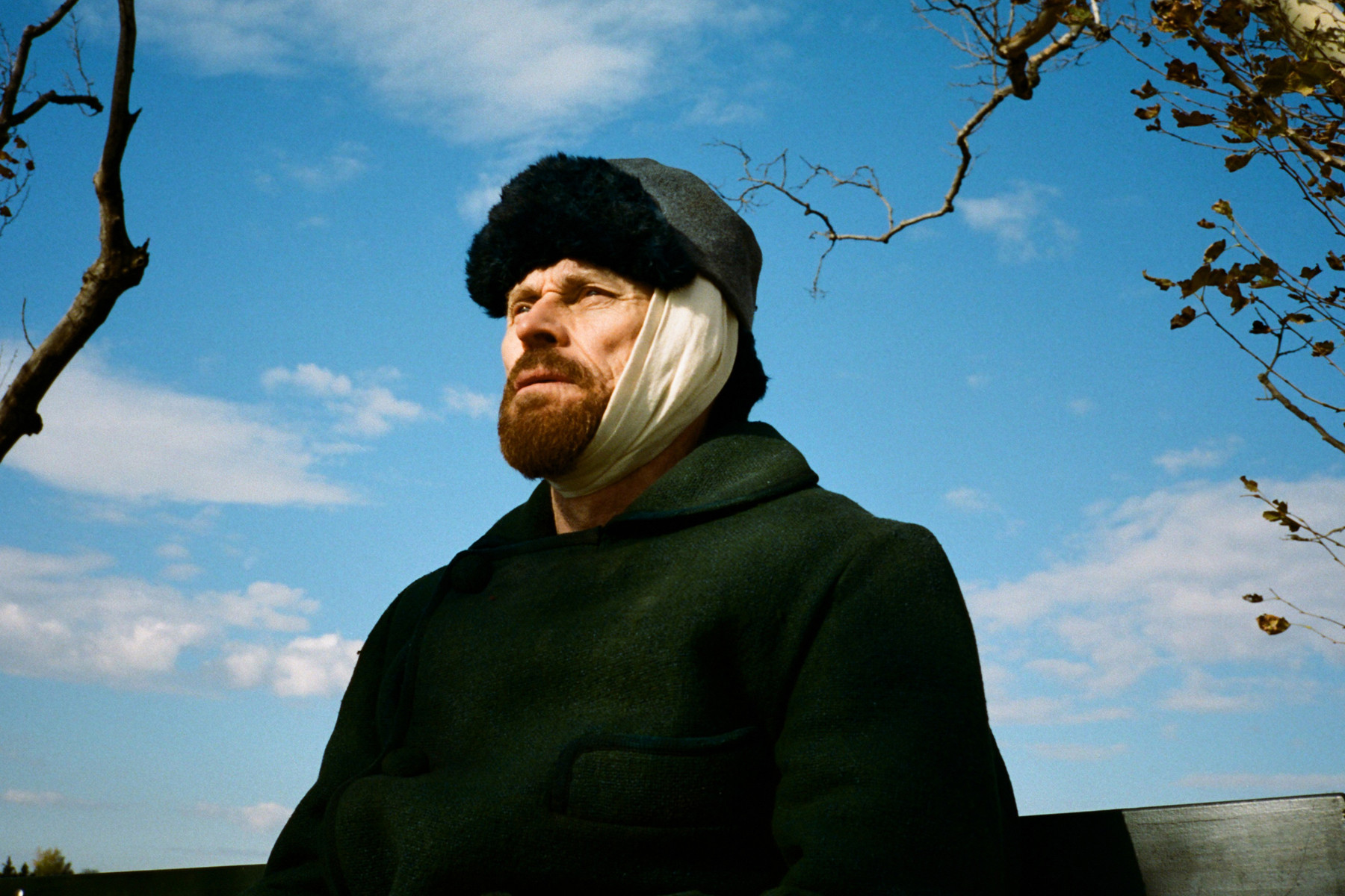 Willem Dafoe as Vincent Van Gogh in 'At Eternity's Gate'
