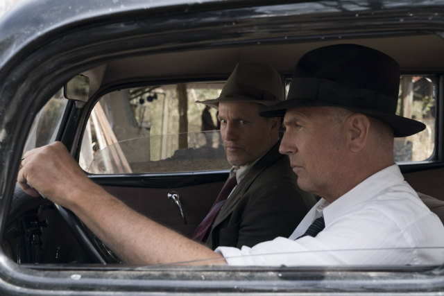 Kevin Costner and Woody Harrelson in 'The Highwaymen'