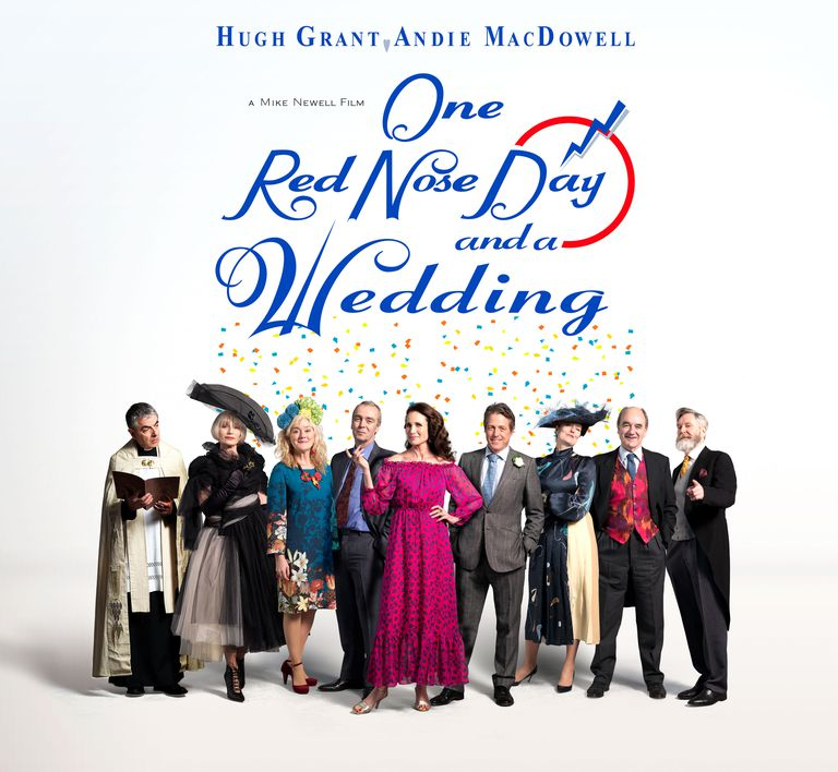 One Red Nose Day and a Wedding poster