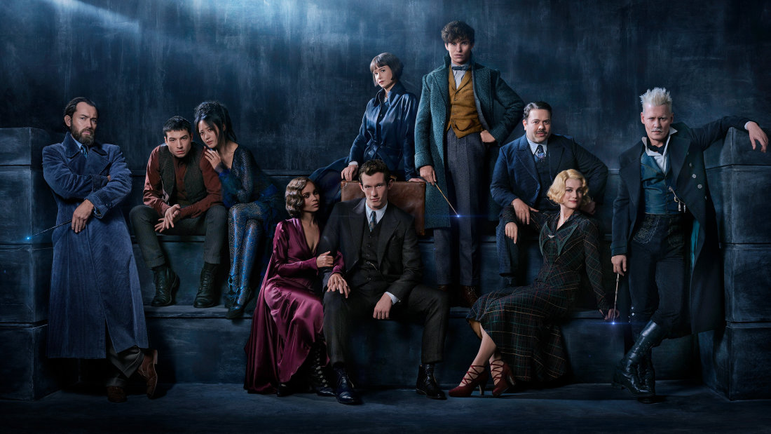 The cast of 'Fantastic Beasts and the Plot-holes Galore'
