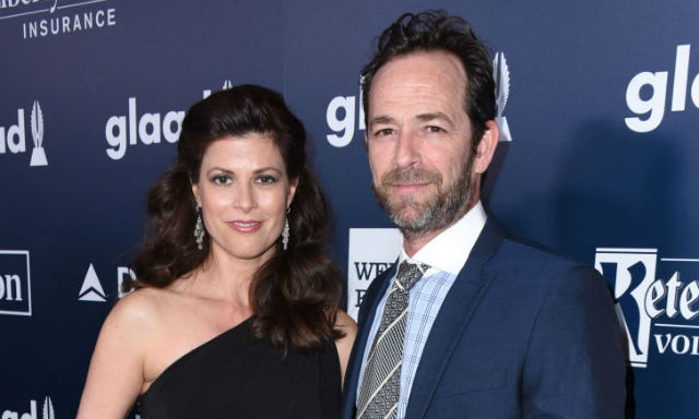 Luke-Perry-and-fiance