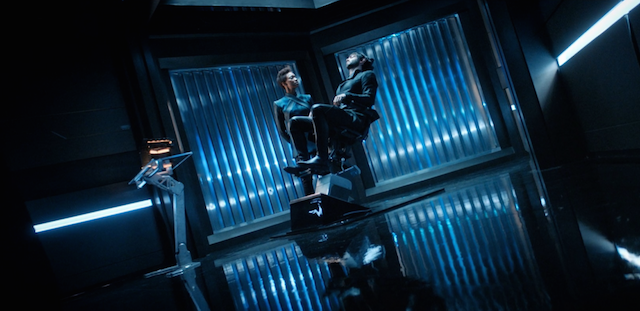 Spock and Michael seek help from Section 31, despite the fact their ship has a chair that looks just like this