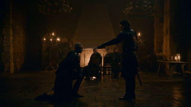 Game Of Thrones knighting