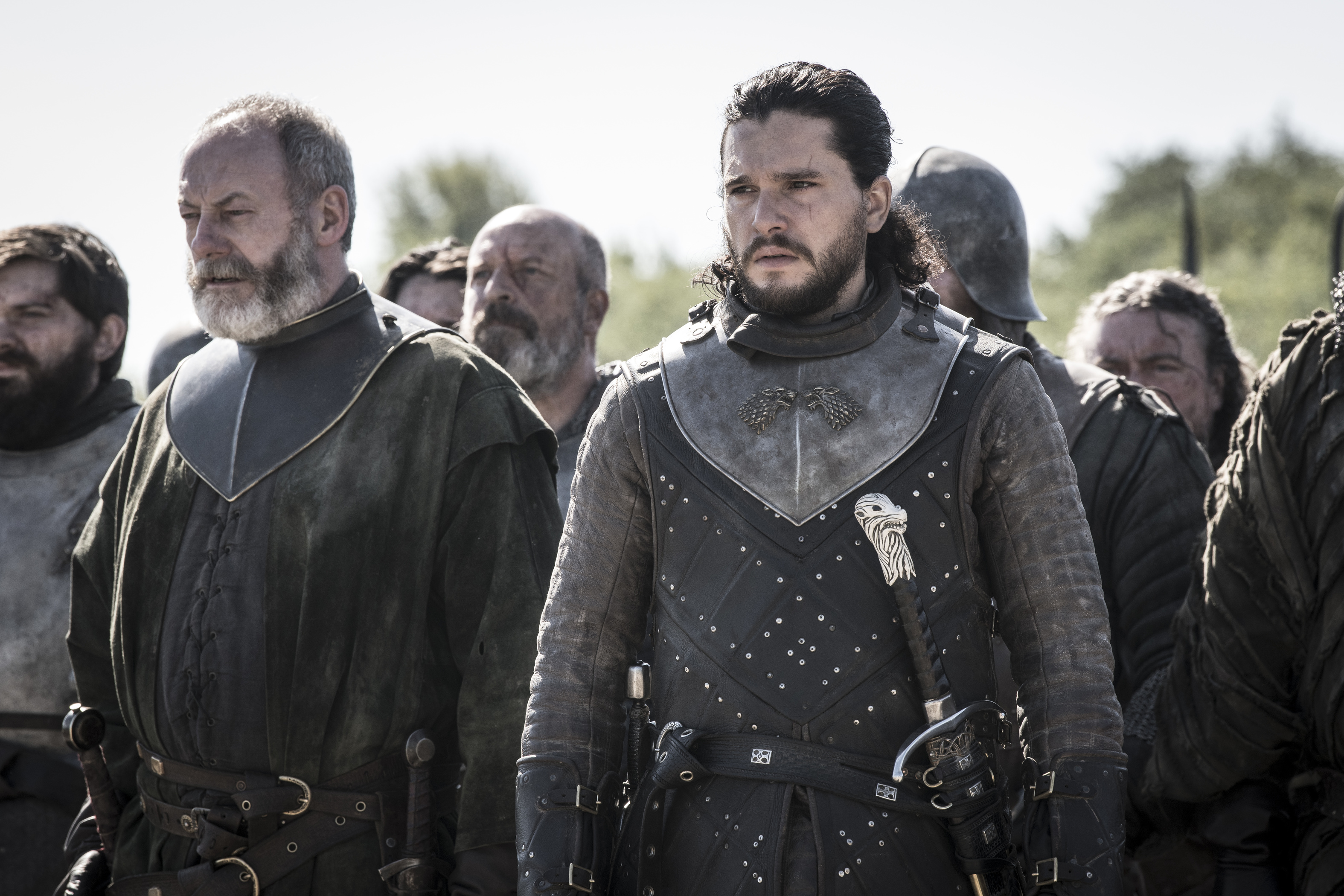 Game of Thrones Jon and Ser Davos