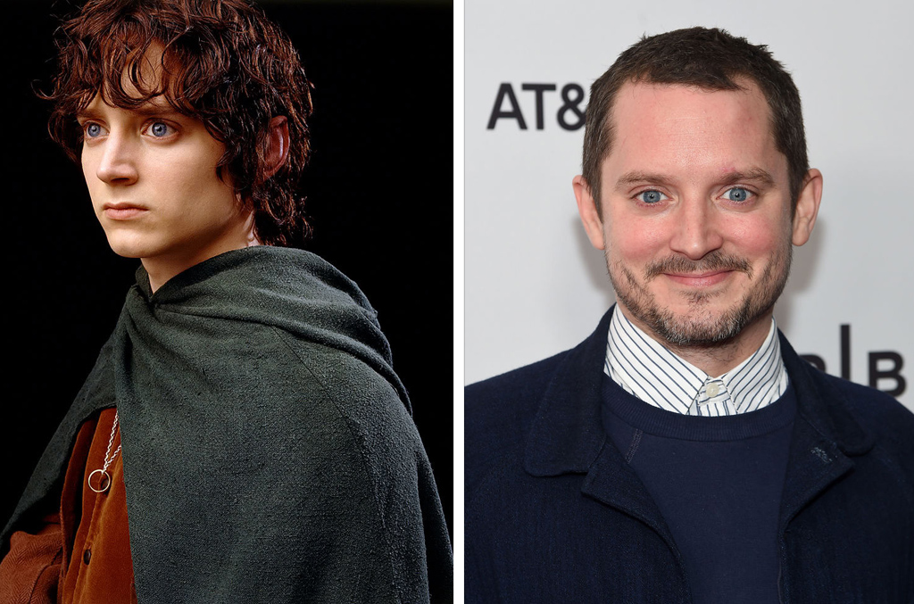 Lord of the Rings cast then and now