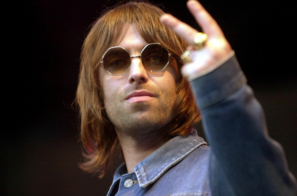 Liam Gallagher (Oasis) 2001