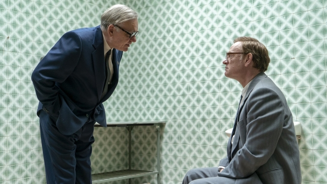 KGB Chairman Charkov (Alan Williams) confronts Valery Lagasov (Jared Harris)