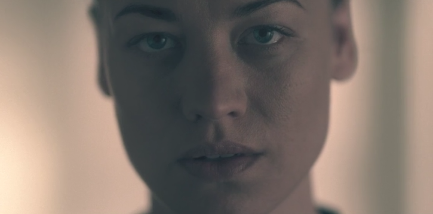 Yvonne Strahovski as Serena Waterford in 'The Handmaid's Tale'