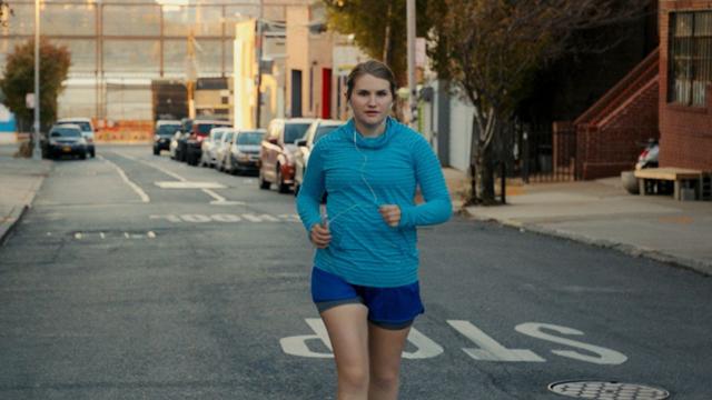 Jillian Bell stars as Brittany in 'Brittany Runs a Marathon'.