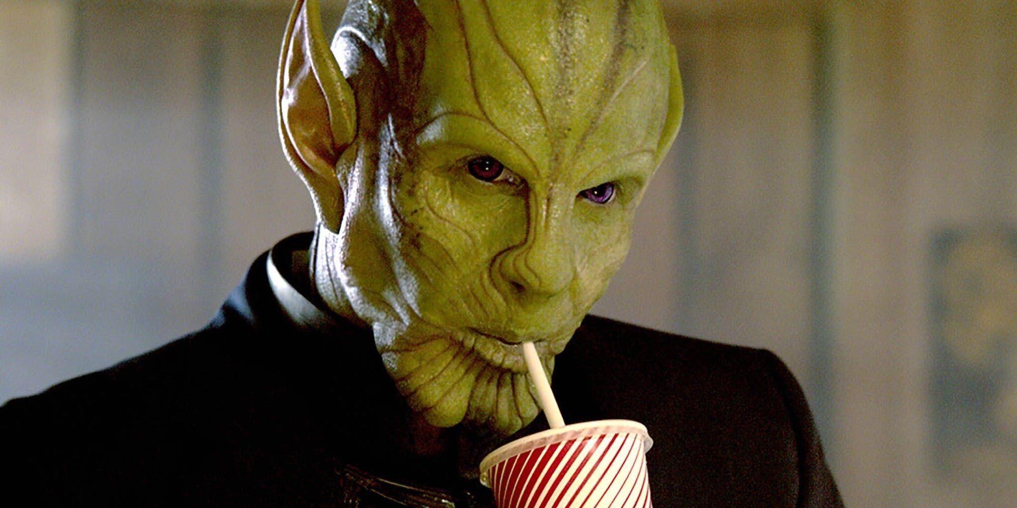 Captain Marvel Talos Skrull milkshake