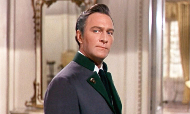 Christopher Plummer as Captain Von Trapp in 'The Sound of Music'