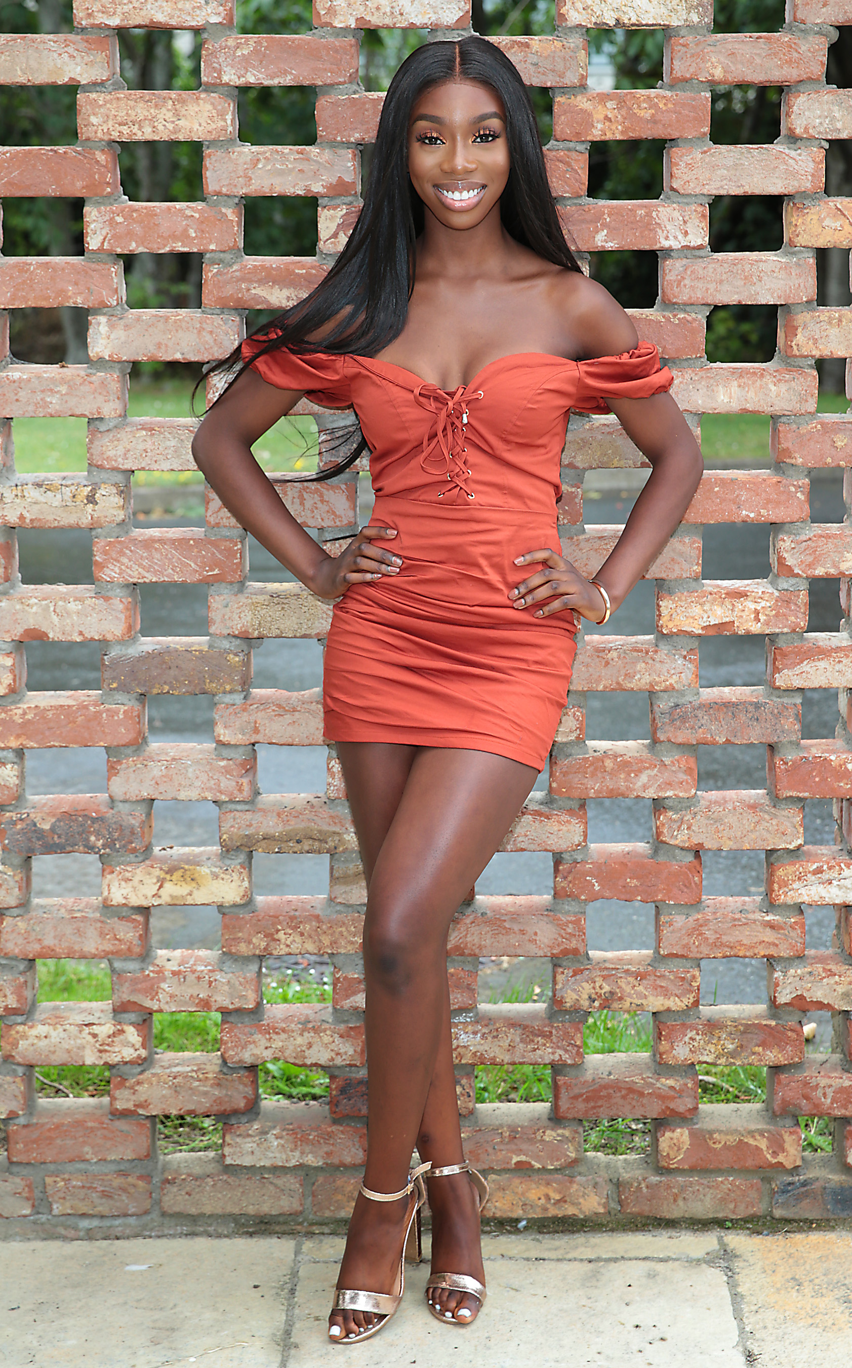 Love Island's Yewande Biala pictured at Virgin Media Television Studio's in Ballymount,Dublin as she made her first Irish television appearance since leaving the Love Island Villa on Virgin Media One's Ireland AM.