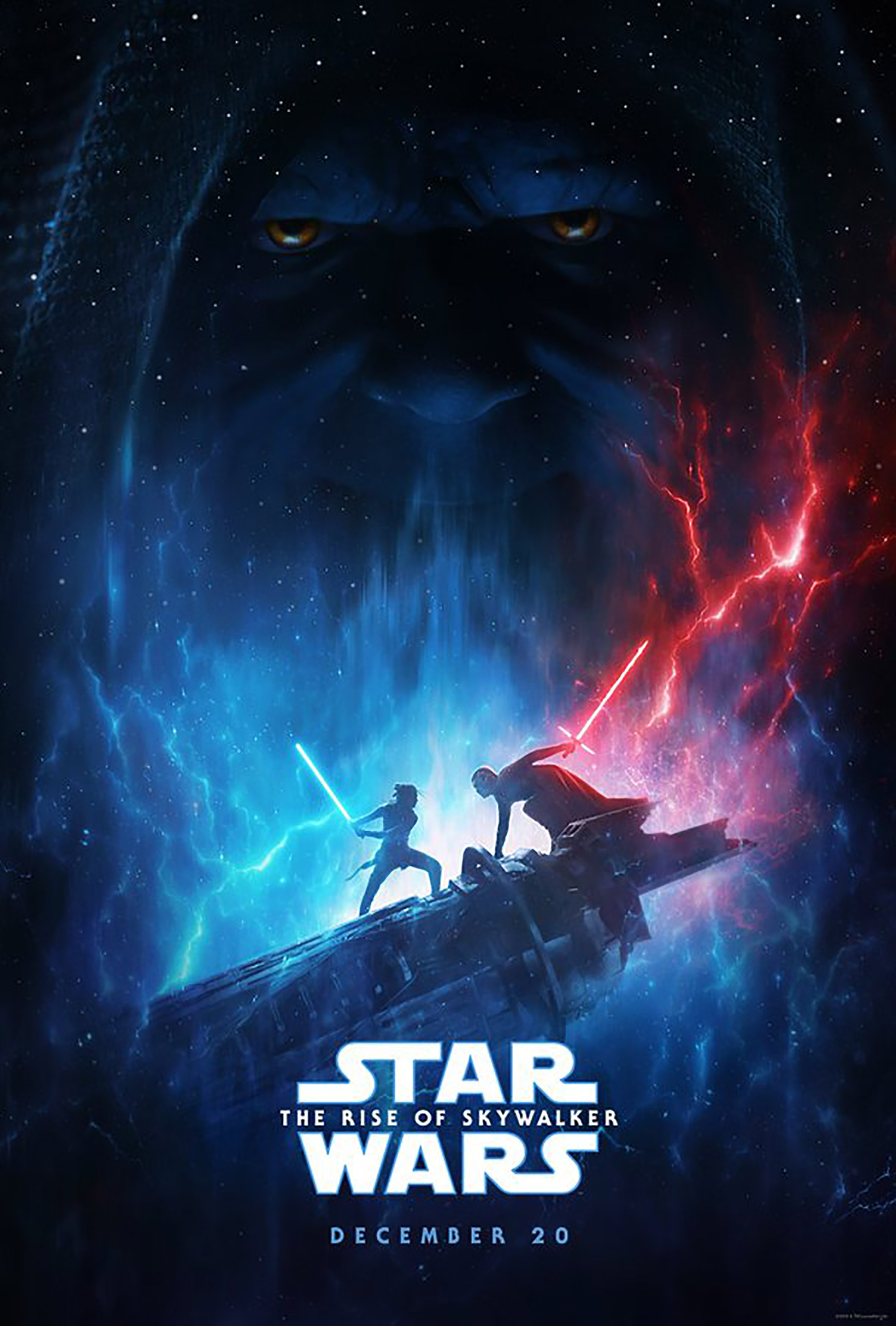The new poster for 'Star Wars: The Rise of Skywalker'