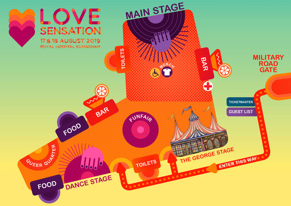 Love Sensation Map