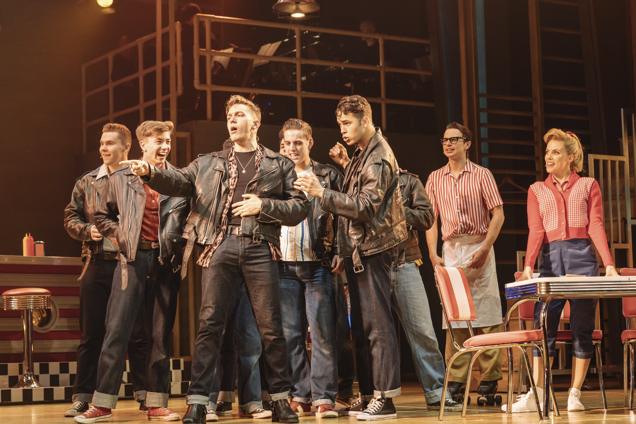 Grease at the Bord Gais Energy Theatre