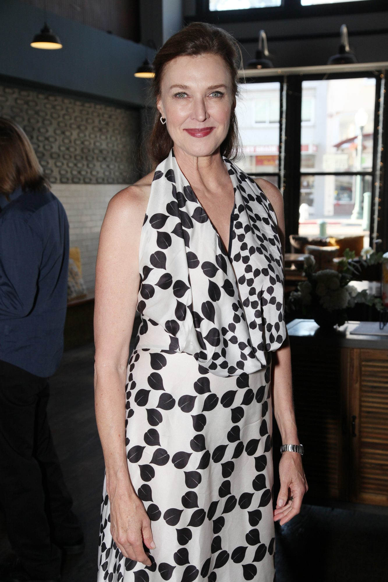 BERKELEY, CALIFORNIA - AUGUST 25: Brenda Strong is seen at Berkeley Social Club on August 25, 2019 in Berkeley, California. (Photo by Amber De Vos/Getty Images for Netflix)