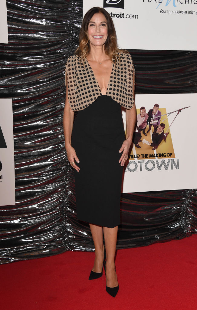"""LONDON, ENGLAND - SEPTEMBER 23: Teri Hatcher attends the """"The Making Of Motown"""" European Premiere at Odeon Luxe Leicester Square on September 23, 2019 in London, England. (Photo by Stuart C. Wilson/Getty Images)"""
