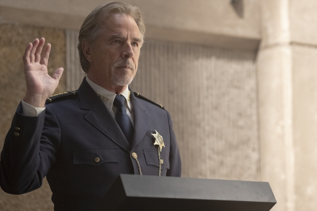 Don Johnson as Tulsa Police Chief Judd Crawford - Credit: HBO