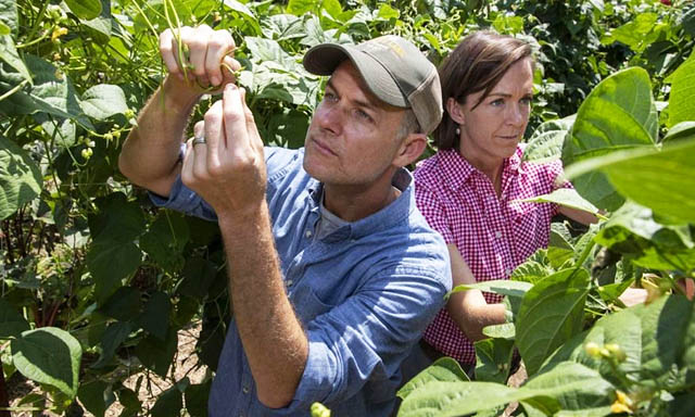 Documentarian John Chester and his wife Molly work to develop a sustainable farm on 200 acres outside of Los Angeles.