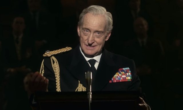 Charles Dance as Lord Mountbatten / Credit: Netflix