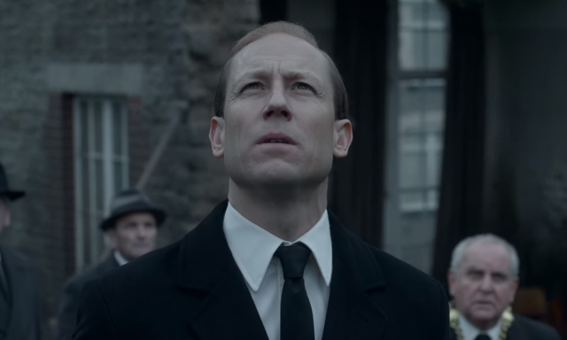 Tobias Menzies as Prince Phillip in The Crown
