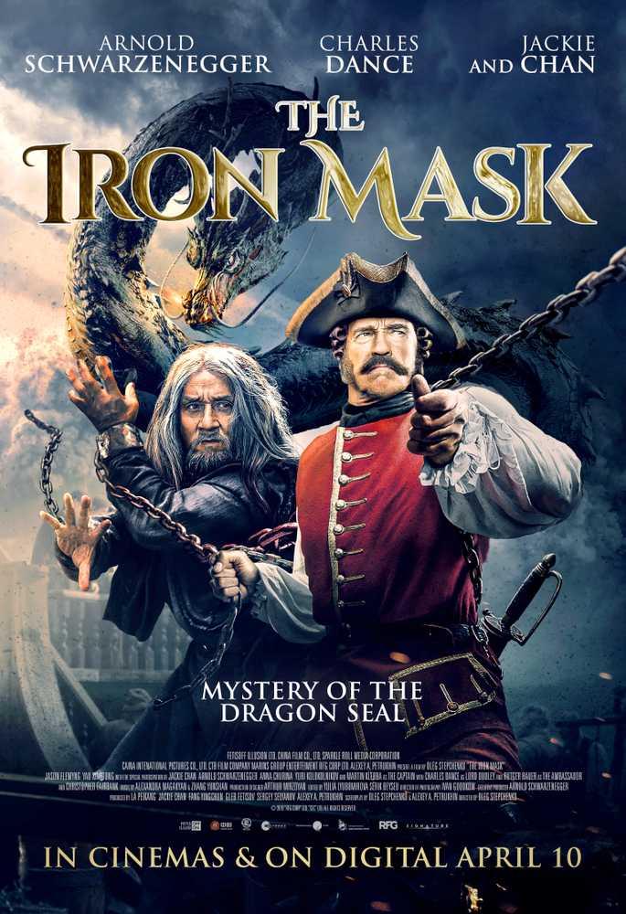 The Iron mask poster Jackie Chan Arnold Schwarzenegger