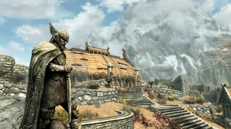 A screenshot from 'The Elder Scrolls V: Skyrim'