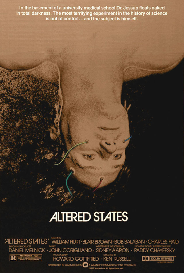'Altered States' Movie Poster