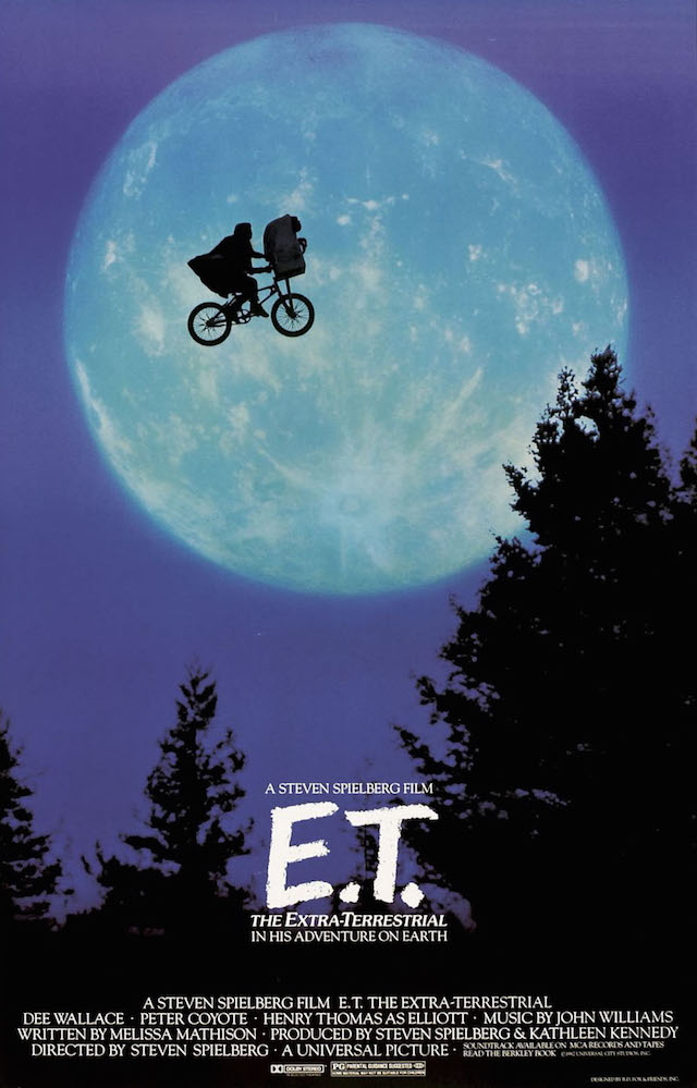 'ET: The Extra-Terrestrial' Movie Poster