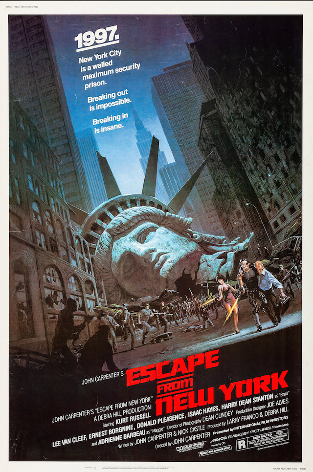 'Escape From New York' Poster