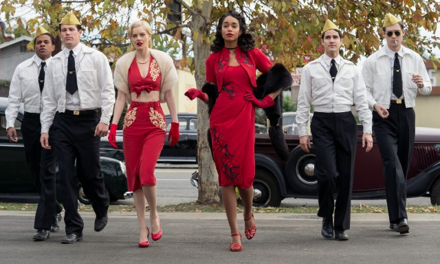 Every factual and fictional occurance in Ryan Murphy's 'Hollywood' golden globes nominees