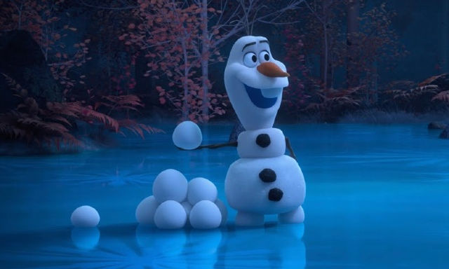 Disney have released an Olaf from 'Frozen' short series, made entirely at home