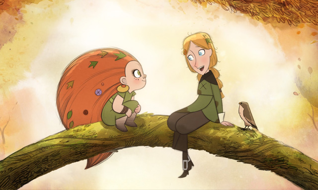 Irish animation Wolfwalkers golden globes nominees