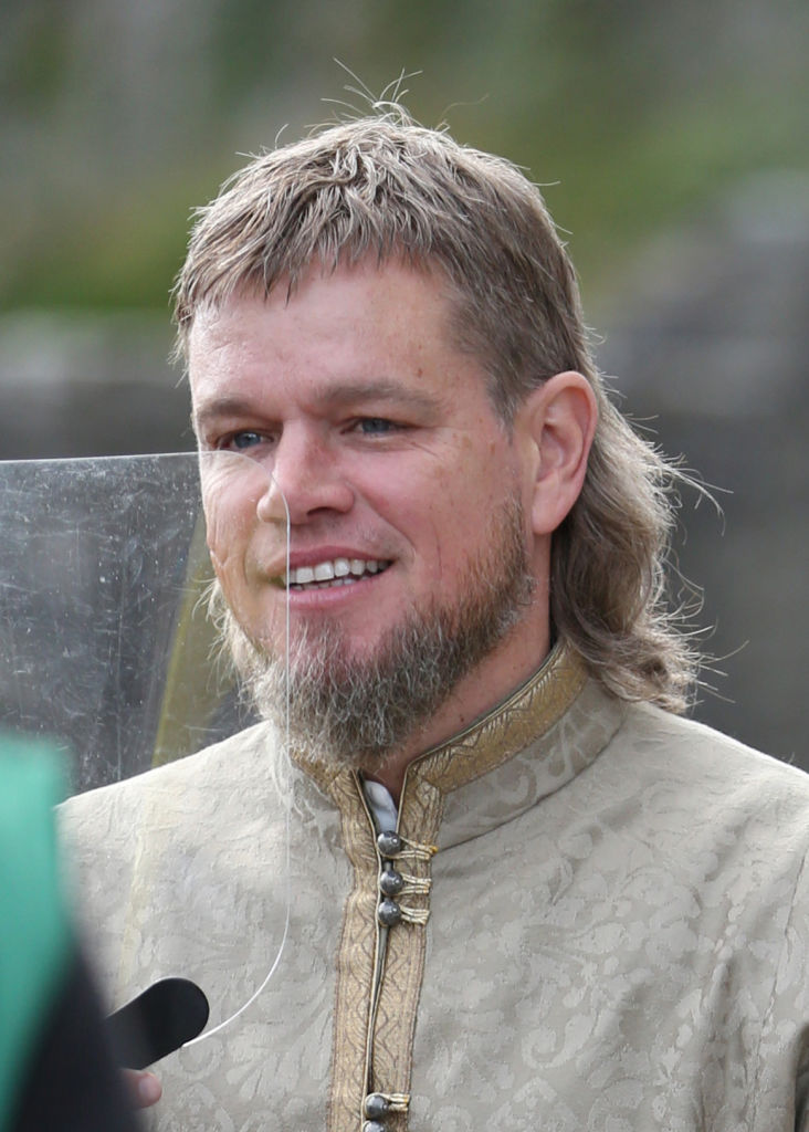 CAHIR, IRELAND - SEPTEMBER 29: Matt Damon on set of film 'The Last Duel' on September 29, 2020 in Cahir, Co.Tipperary. (Photo by Debbie Hickey/GC Images)